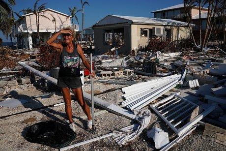 Ouragan Irma, sur l'île de Big Pine Key (2017)