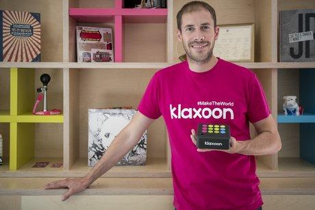 Matthieu Beucher, fondateur et dirigeant de Klaxoon, diplômé lui-même de Rennes 1