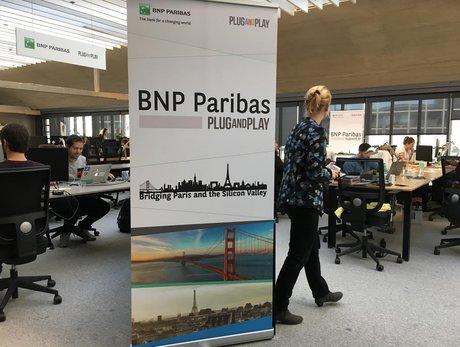 BNP Paribas startups Station F Plug and Play