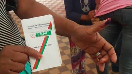 carte électeur vote présidentielle Madagascar