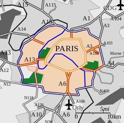 Le Grand Paris décide d'interdire les diesel d'avant 2001 en proche banlieue