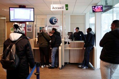 Trabajos polacos, desempleo, trabajo, Aubervilliers