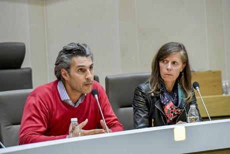 Laurent de Crasto et Corine Mauro