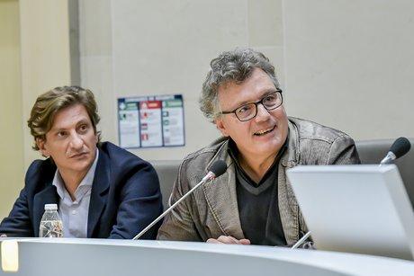 Martin de Reynal et Philippe Abram