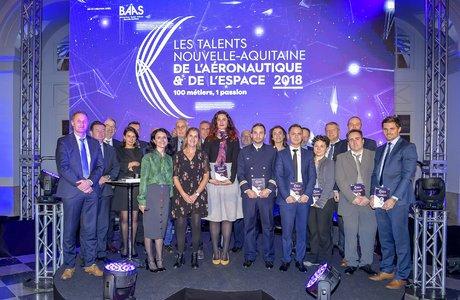 Lauréats Talents aéronautiques Nouvelle-Aquitaine