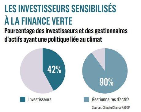 Les investisseurs sensibilisés à la finance verte