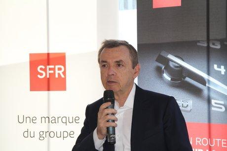 Alain Weill, PDG Altice France, SFR