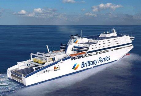 Britanny Ferries, navire, transport maritime,
