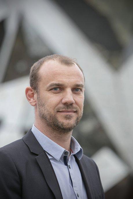 Rodolphe Bouin, président du directoire du Futuroscope