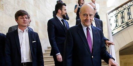 Alain Juppé et Nicolas Florian