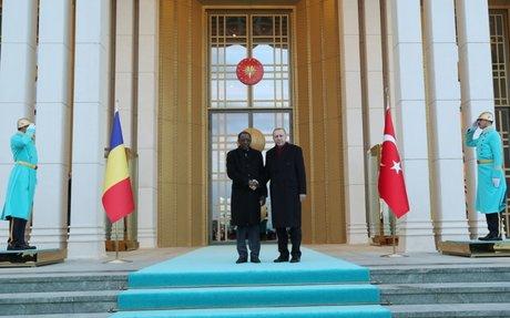 Recep Tayyip Erdogan turquie tchad déby