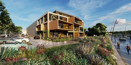 Le projet du futur bâtiment de Main Gauche, à Montpellier