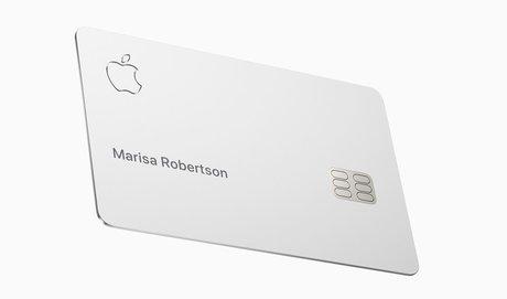Apple Card carte titane