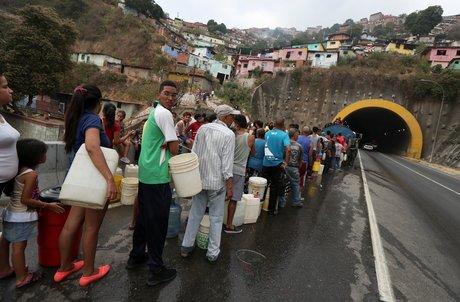 Venezuela, panne d'électricité, eau,