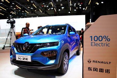 Renault, City K-ZE, Shanghai salon de l'auto,