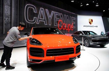 Porsche Cayenne Coupé, Shanghai 2019, salon de l'auto, Volskwagen