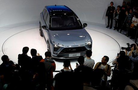 Nio, ES8 SUV, Shanghai autoshow