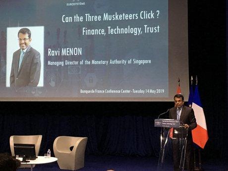 Ravi Menon MAS Singapour Fintech