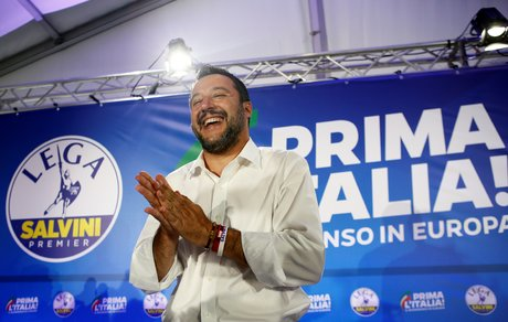 Matteo Salvini, Ligue, Italie,
