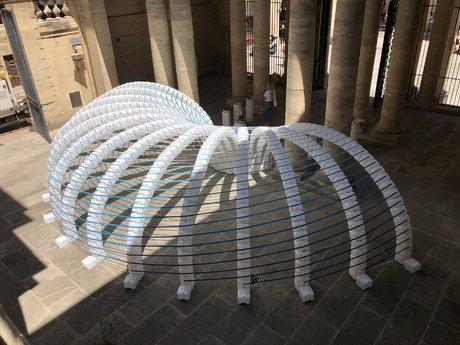 L'installation créée pour l'édition 2019 de FAV