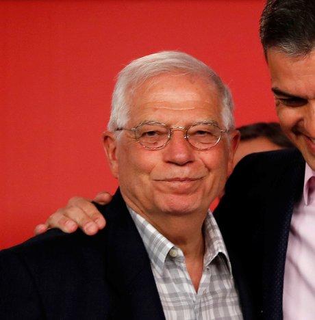 Josep Borrell, Pedro Sanchez, Espagne, élections européennes,