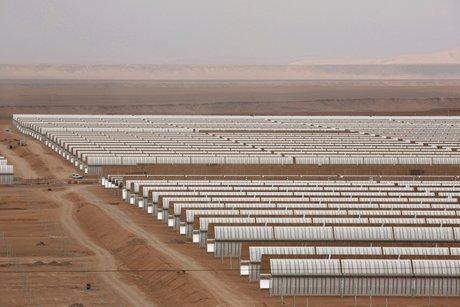 energie solaire centrale noor maroc