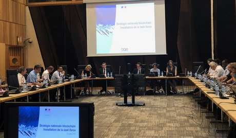 Task force Blockchain Bercy juillet 2019