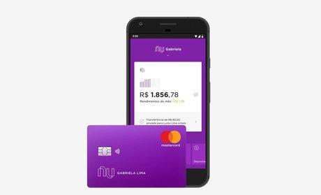 Nubank Fintech néobanque appli carte Brésil