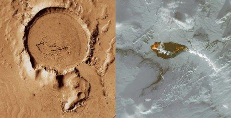 Nasa, Mars, Islande, volcanisme,