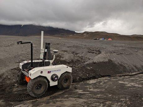 Islande, Mission Control Space Services, robot, Nasa, Mars
