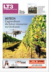 Retrouvez notre dossier (12 pages) sur le potentiel de l'agriculture connectée en Occitanie dans le numéro de La Tribune actuellement en kiosque.