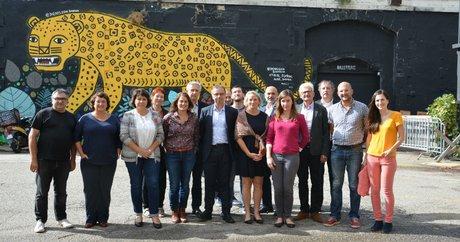 Pierre Hurmic, chef de file écologistes municipales Bordeaux avec sess soutiens
