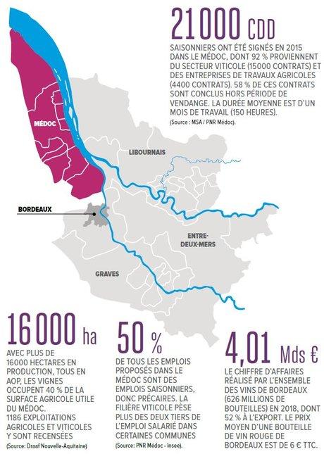 Infographie Carte Médoc