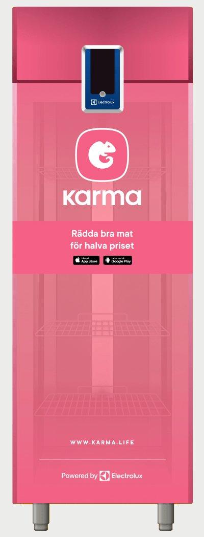 Le frigo de l'appli Karma