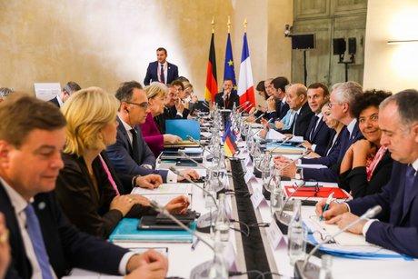 Conseil des ministres Franco-Allemand à Toulouse