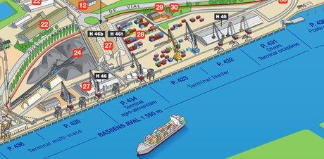 Port terminal de Bassens