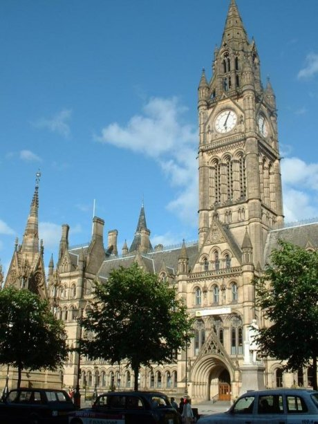 Manchester Town Hall (old building)
