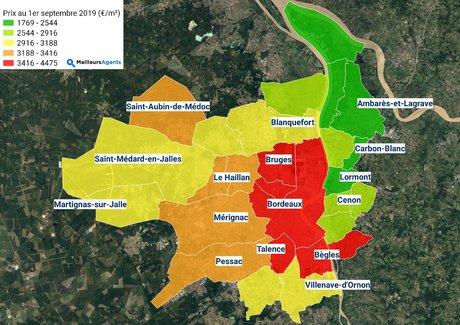 Immobilier Bordeaux Métropole Septembre 2019