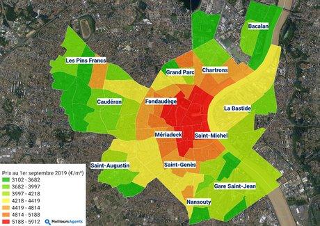 Bordeaux Immobilier Meilleursagents.com