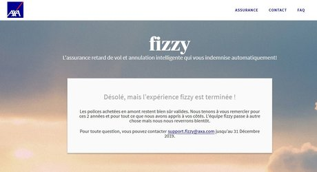 Axa Fizzy clap fin Blockchain