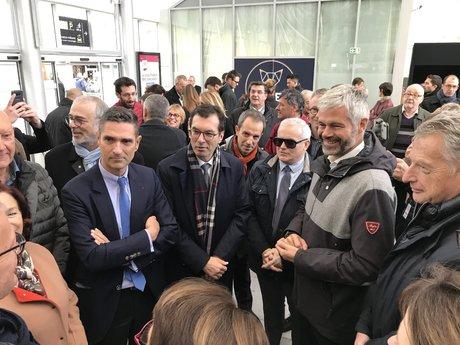 Inauguration de la gare de Chambéry