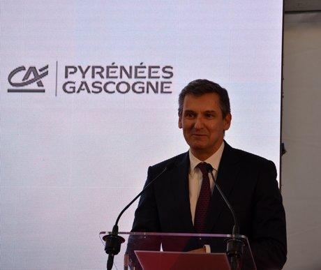Jean-Paul Mazoyer Crédit agricole Pyrénées Gascogne