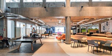 Sur l'Ecla Campus à Massy-Palaiseau, les 1300 résidents disposent d'une importante offre de services et loisirs à disposition