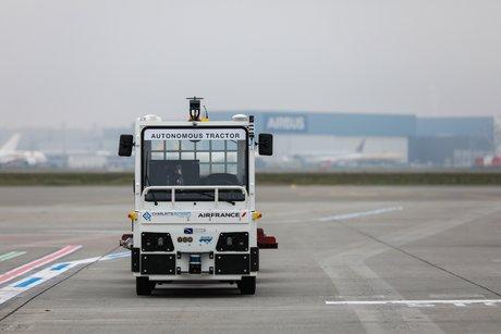 tracteur a bagages autonome