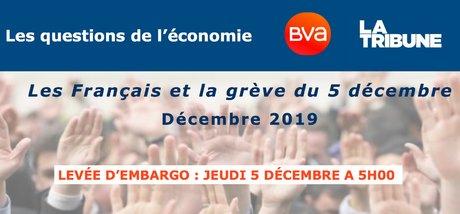 Sondage BVA-LT, Les Français et la grève du 5 décembre 2019