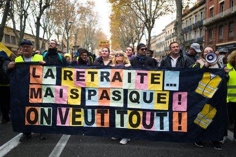 Manifestation retraites 5 décembre