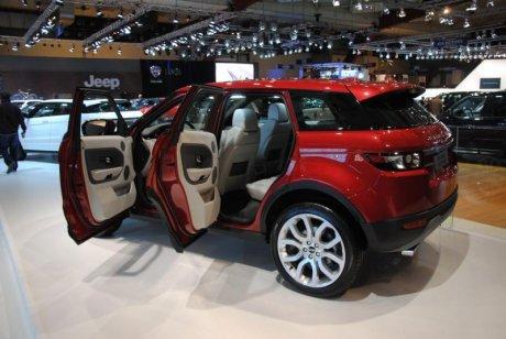 Range rover evoque look d enfer luxe et baroud for Interieur land rover evoque