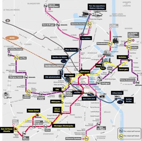 Métro de Bordeaux
