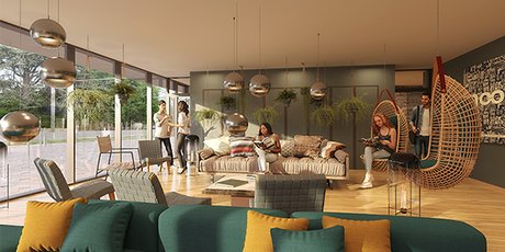 La 1e résidence Casa Moov, conçu par Hélénis, sera construite à Montpellier, dans le quartier universitaire Hôpitaux-Faculté.