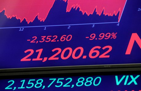 Wall Street, Krach du jeudi 12 mars 2020, Bourse, New York, Dow Jones,